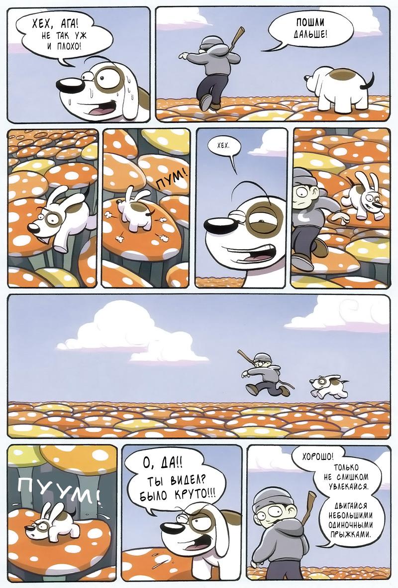 Поход по грибам. Часть 3.